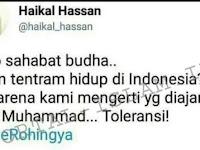 Hallo Sahabat Buddha, Aman Tentram Hidup di Indonesia? Itu Karena Umat Islam Amalkan Toleransi!