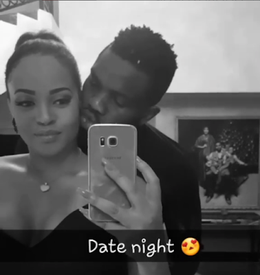 Adaeze Yobo and hubby Joseph Yobo step out on date night