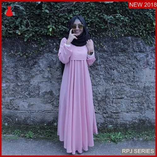 RPJ177D259 Model Dress Abaya Cantik Pearl Wanita