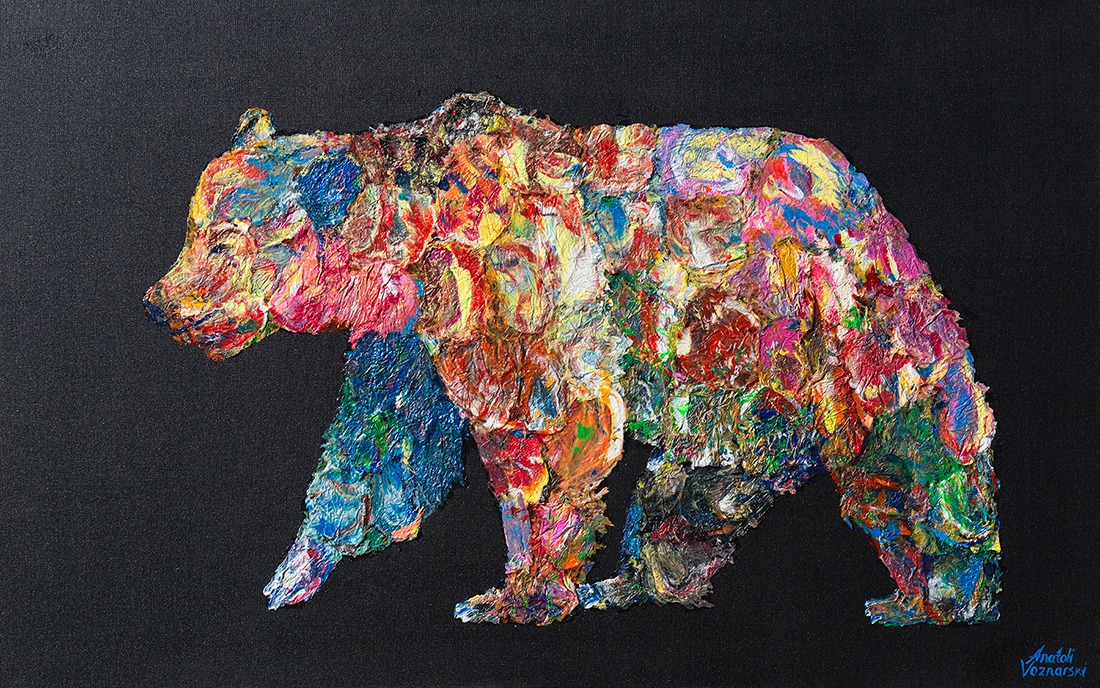 bear painting, polar bear dot , polar bear oil, bear mixed media, Grizzly Bear painting, bear 3d painting, bear dot painting, abstract bear art,bear textured, bear wall art, bear pop art, acrylic bear,