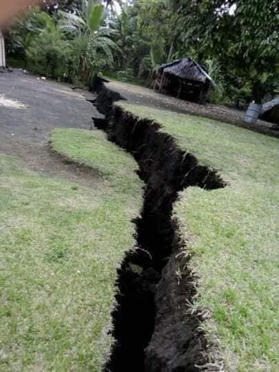 FOTOS: erupcion volcanica esta provocando serie de terremotos.