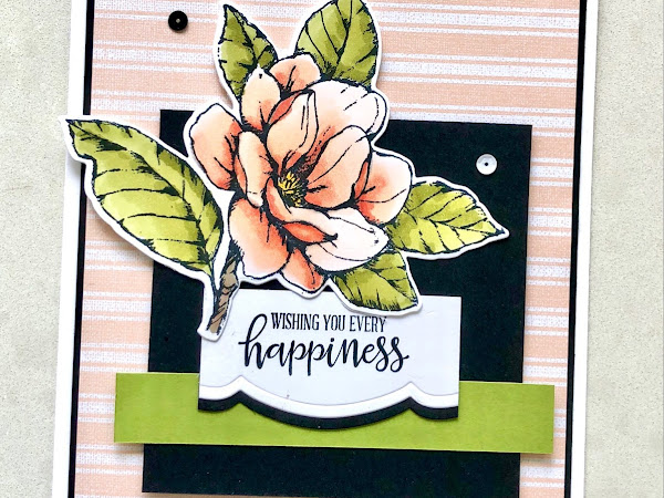 Ink It! Stamp It! Blog Hop: Magnolia Happiness