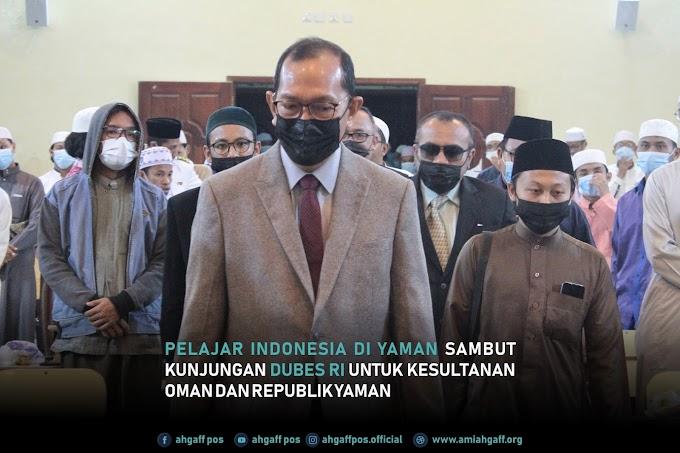 Pelajar Indonesia di Yaman Sambut Kunjungan Dubes RI untuk Kesultanan Oman dan Republik Yaman