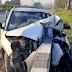 दर्दनाक हादसा : सहारनपुर में दंपती समेत तीन की मौत, कार के उड़े परखच्चे
