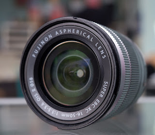 Lensa Mirrorless Fujifilm 16-50mm OIS Bekas