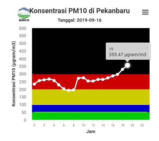 Mengenal PM10 dan Efeknya Bagi Kesehatan Yang Saat Ini Mencemari Udara Pekanbaru