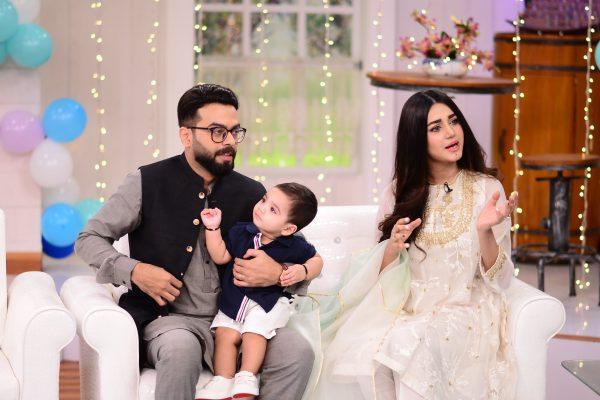 Anum Fayaz Son First Birthday Celebrated In Nida Yasir Morning Show