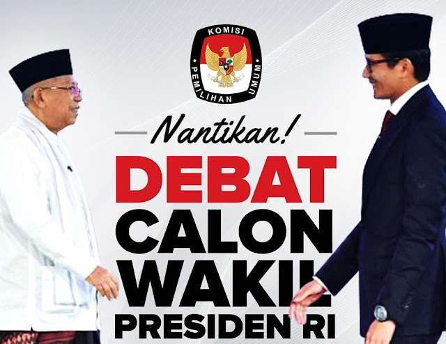 KPU Holds Sandi-Ma'ruf Debate at Sultan Hotel