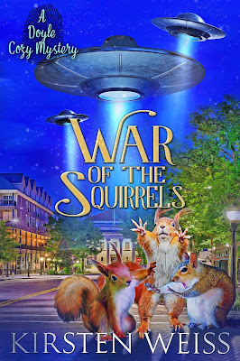 cover of War of the Squirrels by Kirsten Weiss