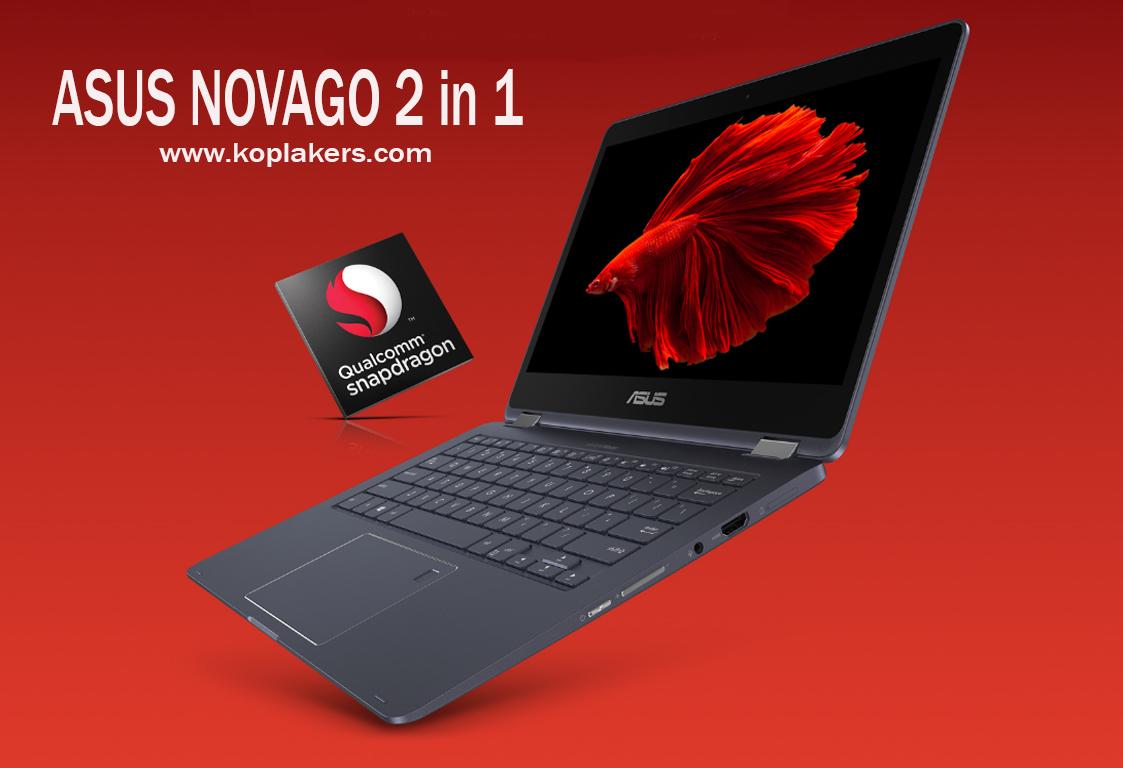 harga dan spesifikasi laptop asus novago terbaru