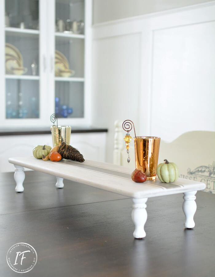 DIY Wood Table Riser