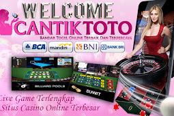 CANTIKTOTO Agen Casino online dan Bandar Togel Online Terpercaya