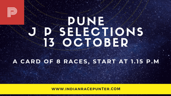 Pune Jackpot Selections 13 October