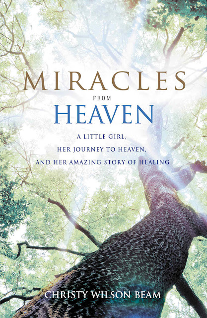Christy Beam miracles from heaven interview poster
