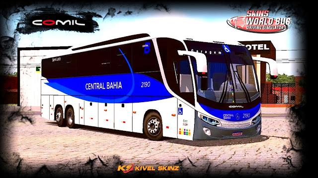 COMIL 1200 6X2 - VIAÇÃO CENTRAL BAHIA