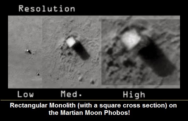 new illuminati: Bases on the Moon and Mars