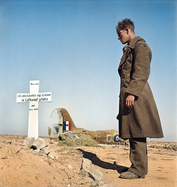 RAF gravesite in Libya 14 June 1941 worldwartwo.filminspector.com