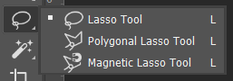 Lasso Tool Toolbox Adobe Photoshop