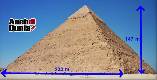 Selama Ribuan Tahun, Piramid Giza Adalah Bangunan Tertinggi di Dunia