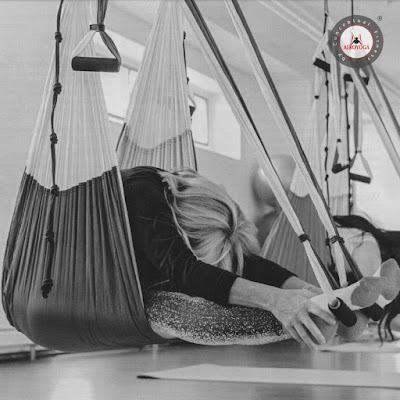 yoga aereo formacion