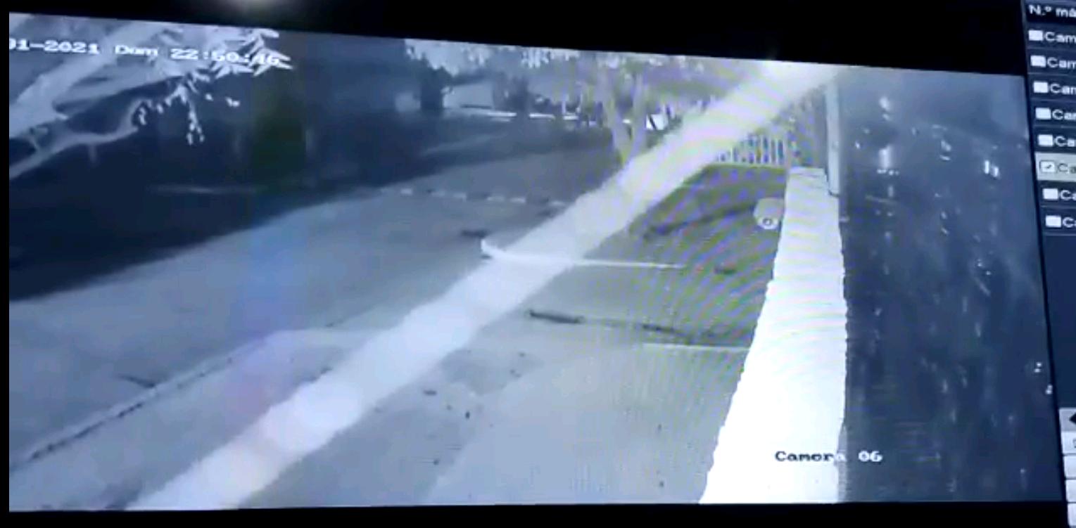 En Video | Cruces en fachadas de viviendas en Juan de Acosta fue una broma de jóvenes