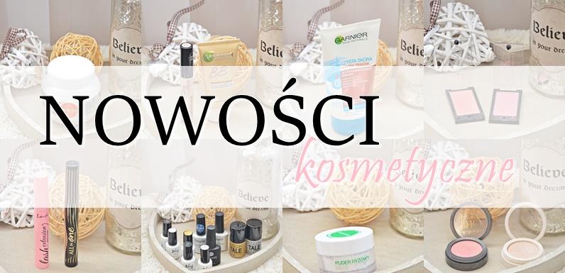 nowości kosmetyczne | kallos, annabelle minerals, lovely, wibo, eveline, garnier i inne