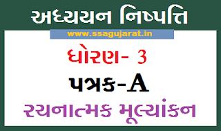 Patrak-A Std 3 Excel or PDF