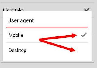 user agent opera
