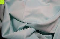 Stoff: MODETREND Damen Kleider mit Bogen 1/2-Arm Etui Elastisch Tulpenkleid Wort Schulter Partykleider Bleistiftrock Abendkleid Casualkleider