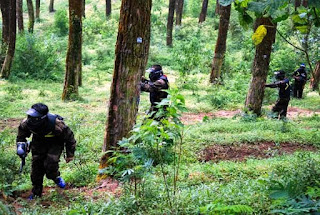 Paket Outbound Paintball