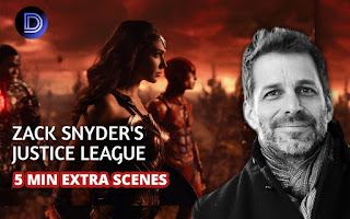Zack Snyder's Justice League Adds Four Minutes Extra Screentime