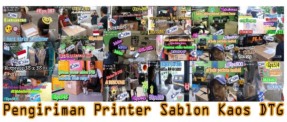 Mesin Sablon Printer DTG