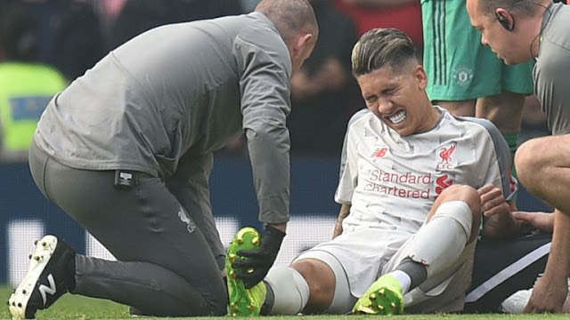 Liverpool FC Roberto Firmino Injury