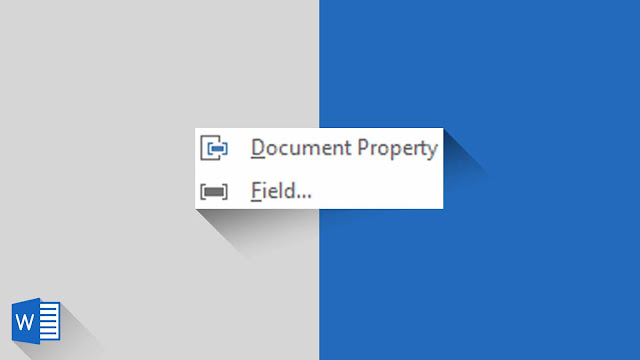 Panduan Lengkap Mengenai Property dan Field di Word 2019