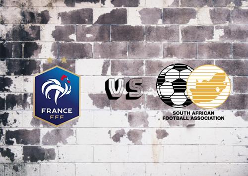 France vs South Africa Resumen