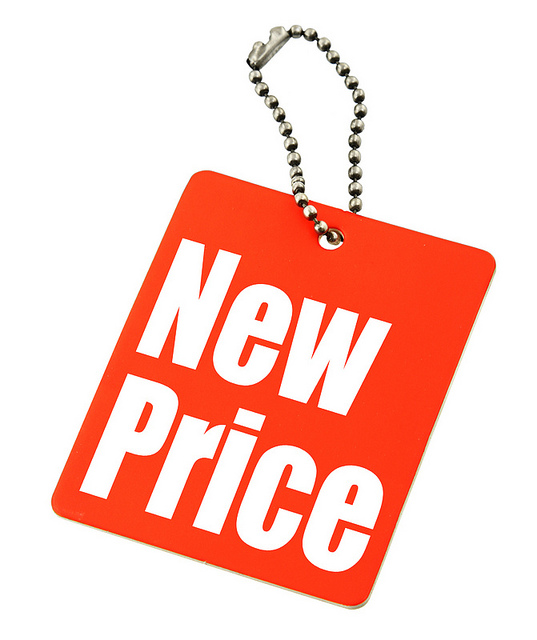 New Priceのタグ(イラスト)