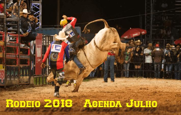 Circuito Rodeio 2018 : Rodeio agenda julho todos os rodeios