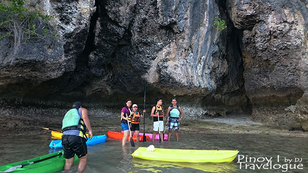 Kayaking at Santiago White Beach