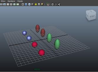 camera settings, display render, maya tutorials