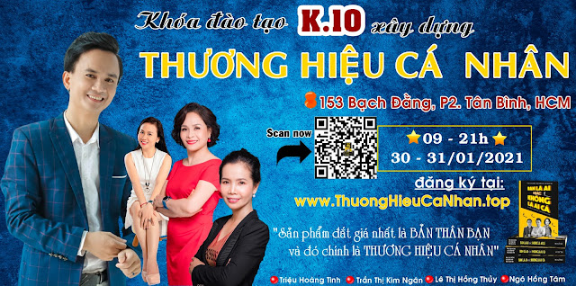 Khóa học xây dựng thương hiệu cá nhân K10 tại Internet Marketing Cafe