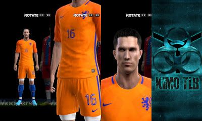 PES 2013 Netherlands Kit Euro 2016 By KIMO T.L.B 19