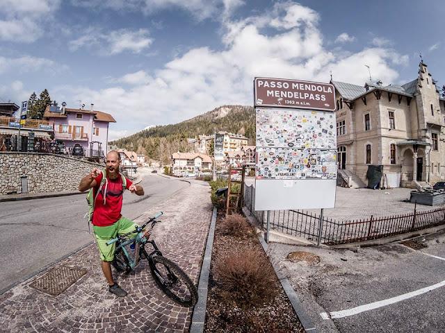 MTB Passo Mendola Bozen