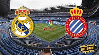 Реал Мадрид – Эспаньол смотреть онлайн бесплатно 07 декабря 2019 прямая трансляция в 15:00 МСК.