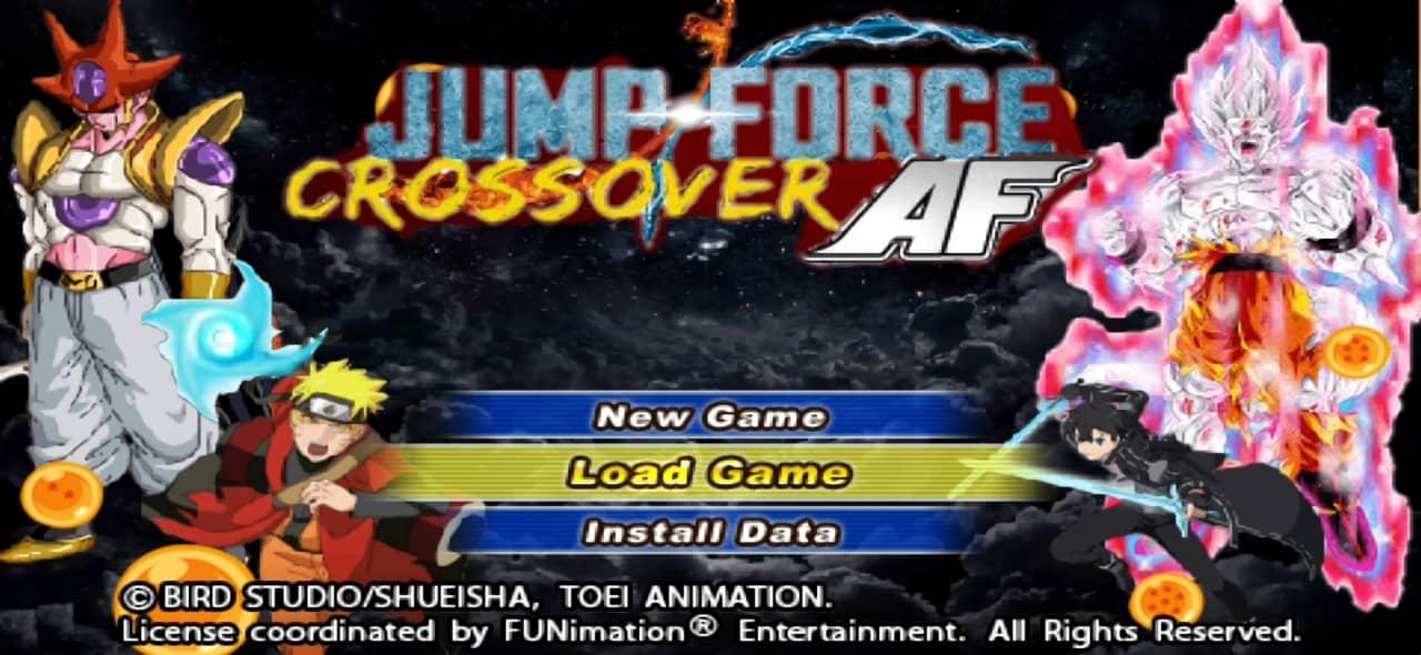 Jump Force Crossover AF DBZ TTT Mod