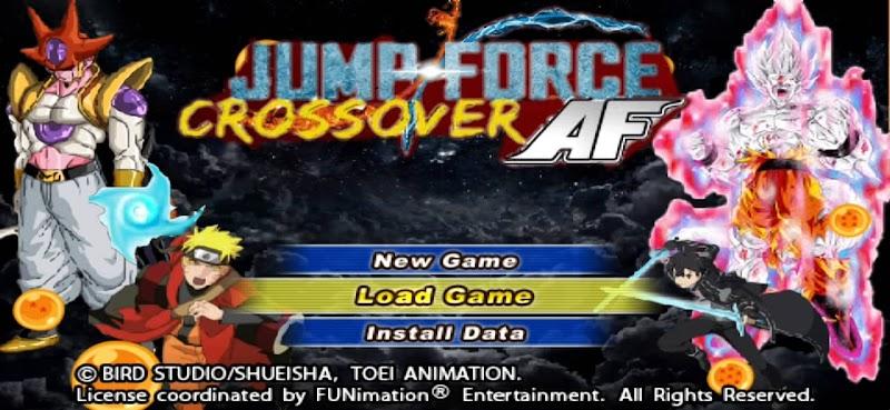 Jump Force Crossover AF DBZ TTT MOD BT3 ISO With Permanent Menu