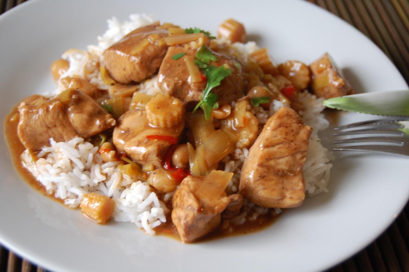 Saras madunivers: Kung Pao kylling (krydret kylling med peanuts)