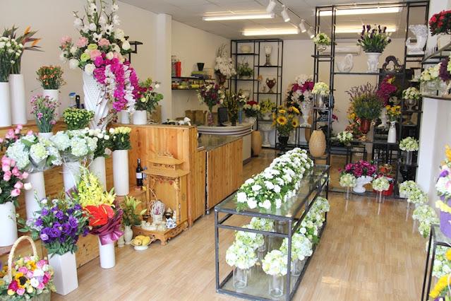 lắp đặt camera cho shop hoa