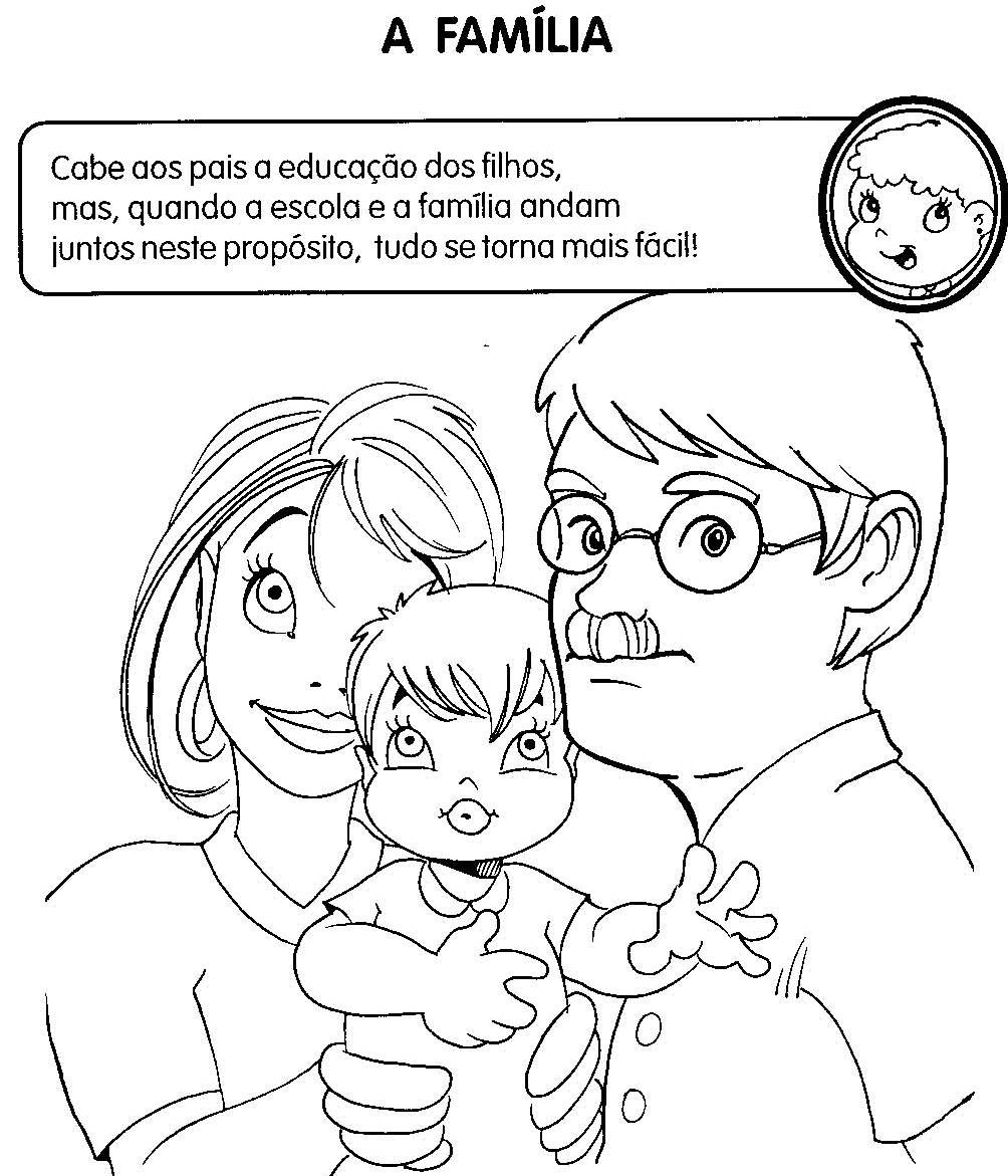Atividades Sobre Familia Para Educacao Infantil Espaco Educar