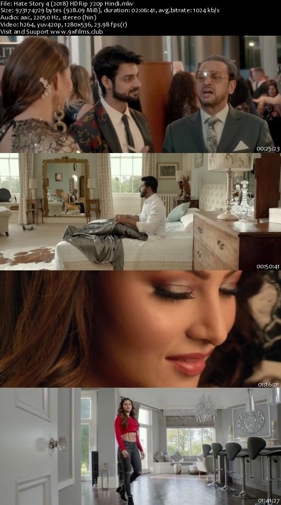 Hate Story 4 (2018) HDRip 720p Hindi 900mb