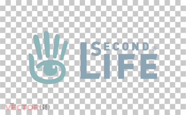 Second Life Logo - Download Vector File PNG (Portable Network Graphics)